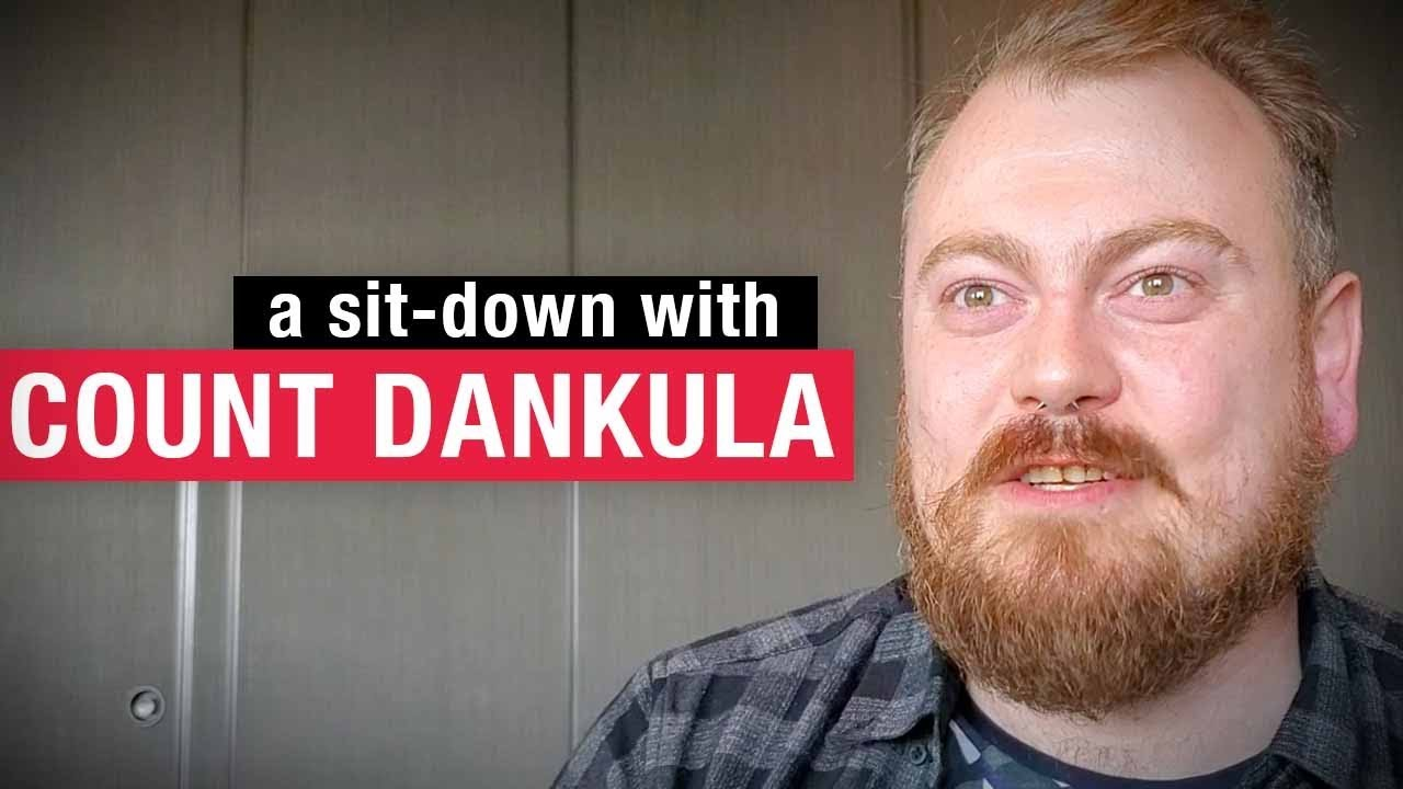 Count Dankula on comedy: It's healthier than drugs! | Keean Bexte