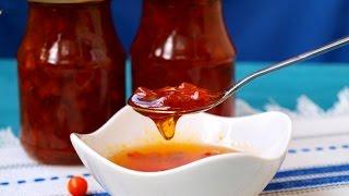 видео Пятиминутка является популярным рецептом варенья