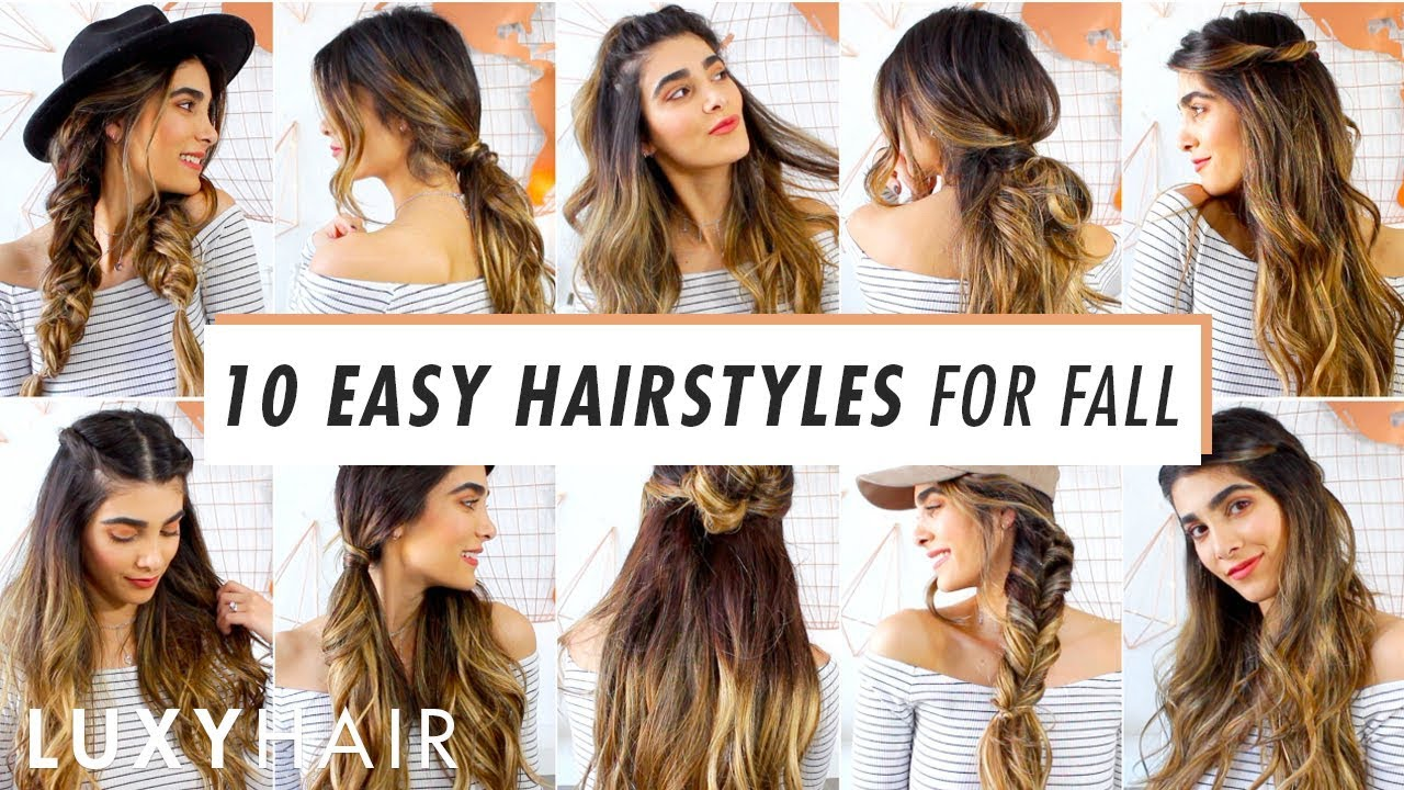 10 heatless hairstyles for fall