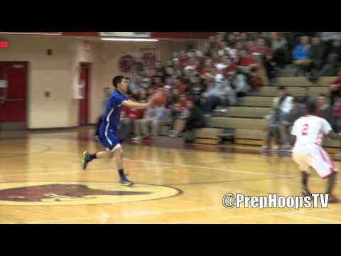 Kentucky Wildcat commit James Young 2013 Rochester DUNKS ON defender