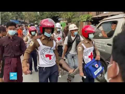 إدانات دولية للعنف في بورما بعد مقتل متظاهرين برصاص الشرطة  - 08:59-2021 / 2 / 21