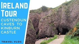 Ireland Tour: Cushendun Caves (Game of Thrones Film Location) to Kinbane Castle