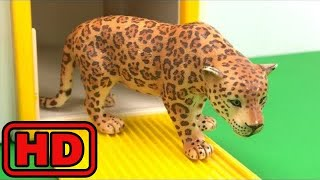 Kid -Kids -Learn Colors & ZOO Animals With Paint And Schleich Animal Toy Lot/Tayo Bus Depot Toy Sur