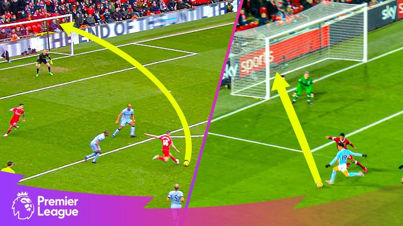 Jordan Henderson & Leroy Sane WONDER GOALS!   Premier League   Classic goals from MW23's fixture