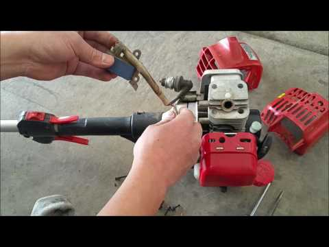 Tự Học Sửa Máy Cắt Cỏ Tập 2 ( how to fix grass trimmer without fire part 2) Video #105