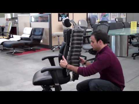 Anthro Ergonomic Verte Chair Bistro Cushion Using The Spine Youtube