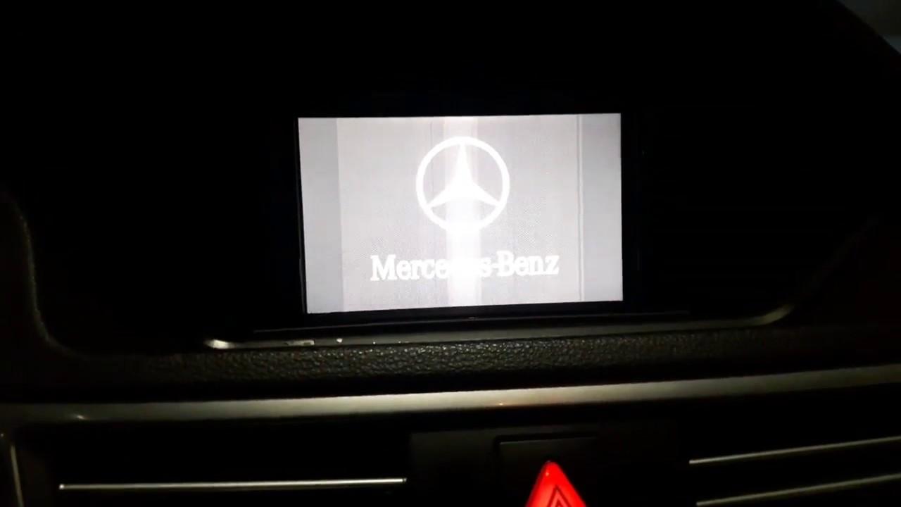 Mercedes command screen problem -FIXED