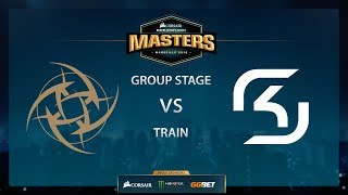 SK vs NiP - Train - Group Stage - Dreamhack Marseille 2018