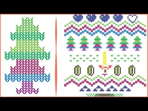 Create a christmas knitted text effect in adobe illustrator