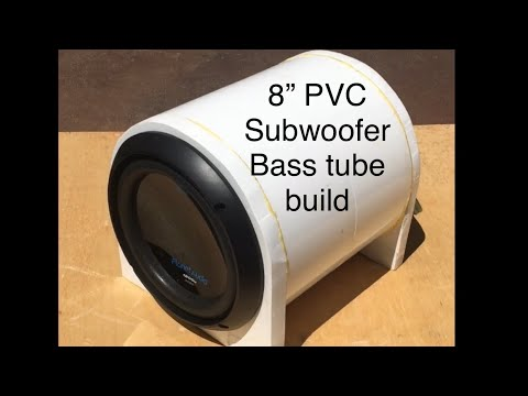 DIY sub bass tube from PVC