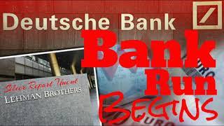 The Bank Runs Begin At Deutsche Bank