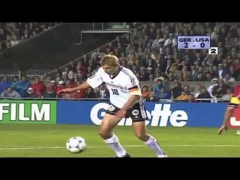 Klinsmann goal against USA in FIFA World Cup 1998