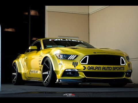 S550 Widebody Kit >> Widebody Ford Mustang 5.0 | ACE Flowform AFF06 - YouTube