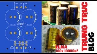 Download Video [Share PCB] Mach Nguon Amply 4 Tu 63v 10000uF | 100v 15000uF MP3 3GP MP4