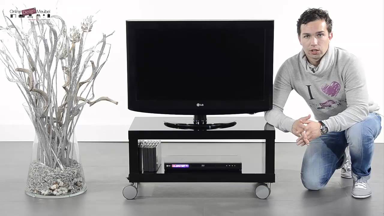 Tv Meubel Led.Tv Meubel Giani Fiore W80 Youtube