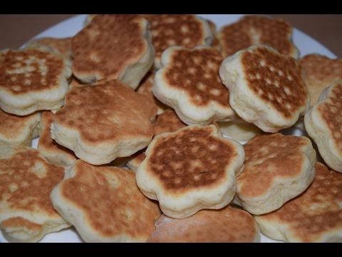 Простое печенье на сковороде / Рецепты с фото