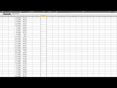 Volatility Calculation In Excel