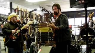 Johnny Hiland Band playing Country @ Bananas at Large Music Store in Santa Rosa CA