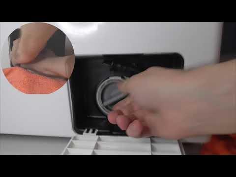 Как почистить фильтр стиральной машины Samsung WF8590NLW8