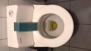 Super self cleaning German Toilet
