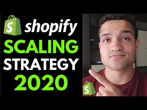 NEW Shopify Dropshipping Strategy for 2020: Grow FASTER Than Ever By Hiring a Team thumbnail