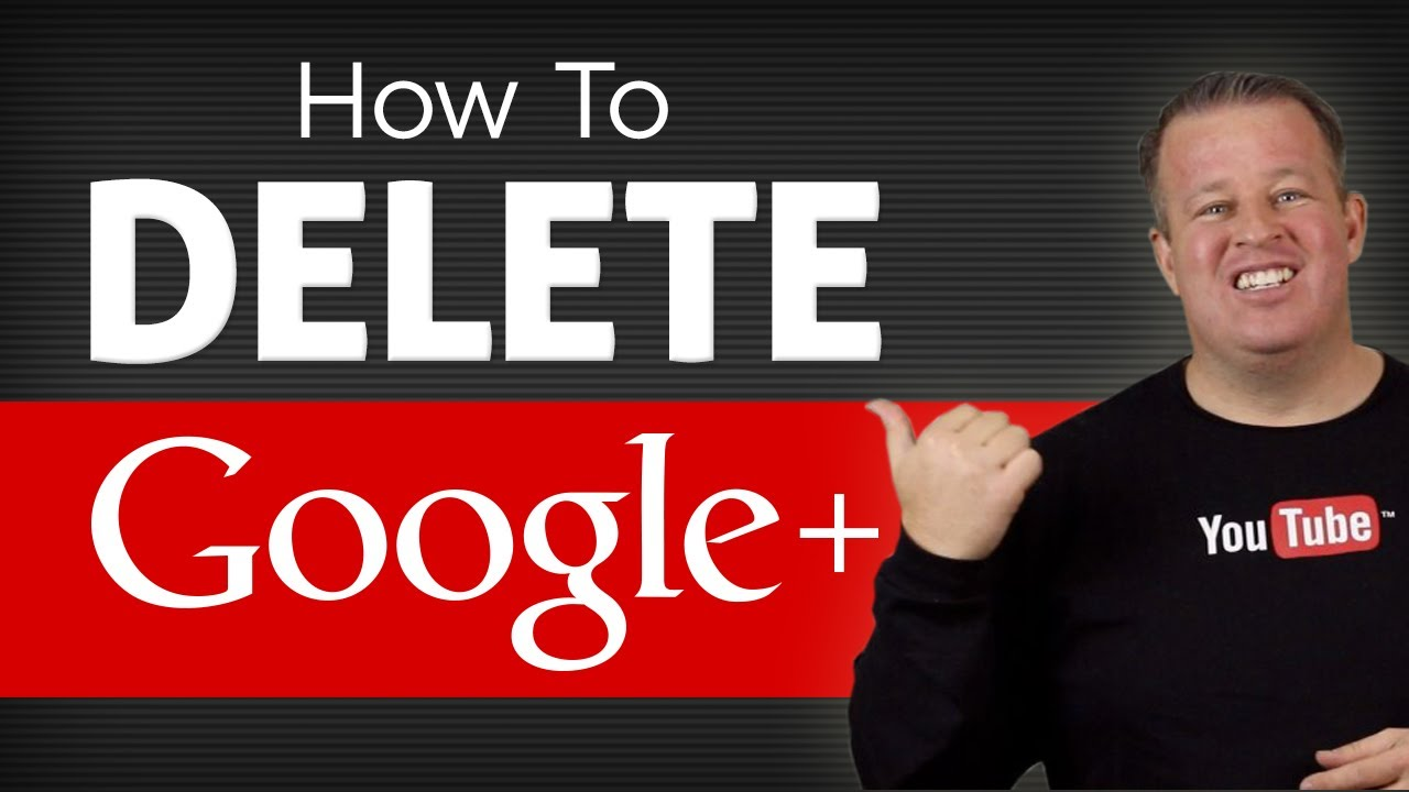 how to delete your google account youtube