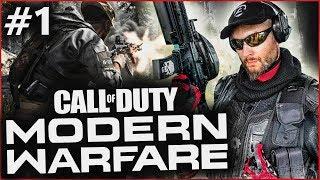 WRESZCIE DOBRY COD! Call of Duty: Modern Warfare #1