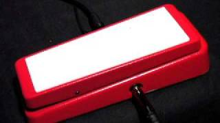 real mccoy custom rmc5 wizard wah pedal
