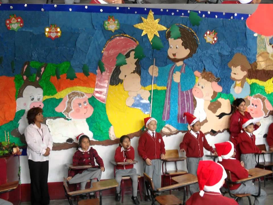 Diciembre ambientaci n de aula youtube for Decoracion de aula para navidad