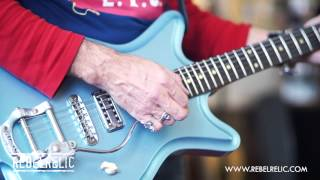 Roadster Ice Metallic Blue | RebelRelic Guitar Showcase 2014