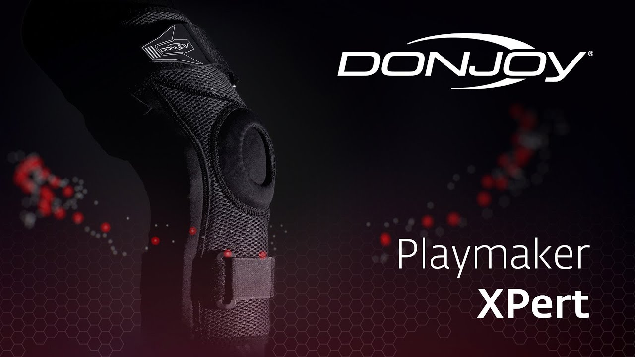 941542383e DonJoy Playmaker Xpert - Functional Knee Supports - YouTube