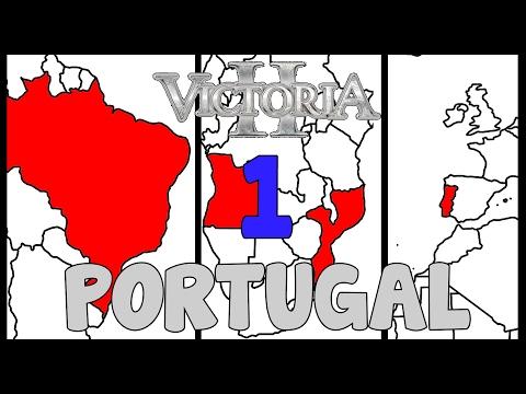 Victoria 2 HPM mod - Restoring the Portuguese Empire