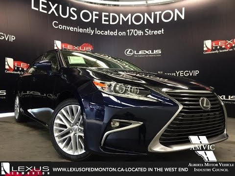 2016 Lexus ES 350 Executive Review