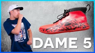 ADIDAS DAME 5 FIRST IMPRESSION & REVIEW!!!