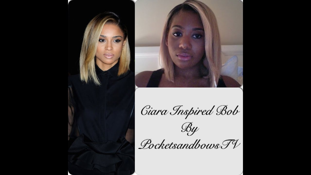 cool hairstyle 2014: ciara bob hairstyles in body party