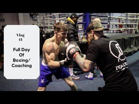 Full Day Of Boxing / Coaching - TeamTank Vlogs - 41