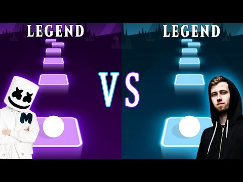 Alone Marshmello VS Alan Walker Faded Which is better? | Tiles Hop EDM Rush! | TRZ indir
