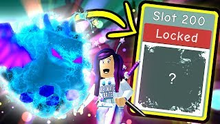 UNLOCKING SLOT 200 FOR THE BEST PET IN ATLANTIS! (Atlantis Overlord) | Roblox Bubble Gum Simulator
