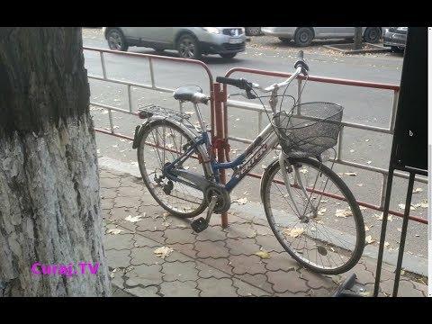 Căutăm cu poliţia capitalei această bicicletă furată - Curaj.TV