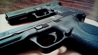 Glock 17 vs. Smith and Wesson M&P9