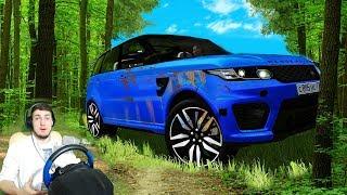 НАШЕЛ В ЛЕСУ БРОШЕННЫЙ Range Rover - CITY CAR DRIVING + РУЛЬ