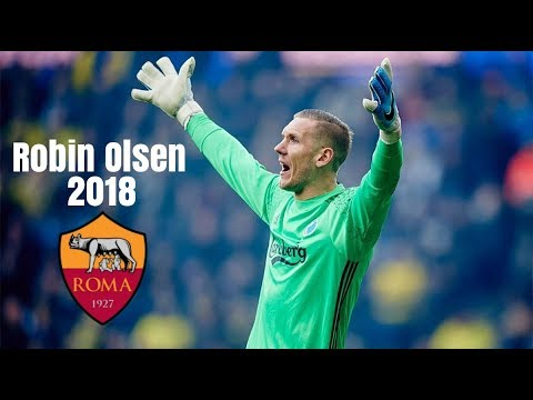Robin olsen welcome to as roma best saves 2018 hd for Robin olsen squadre attuali