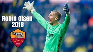 Robin Olsen | Welcome to AS Roma | Best Saves 2018 | HD