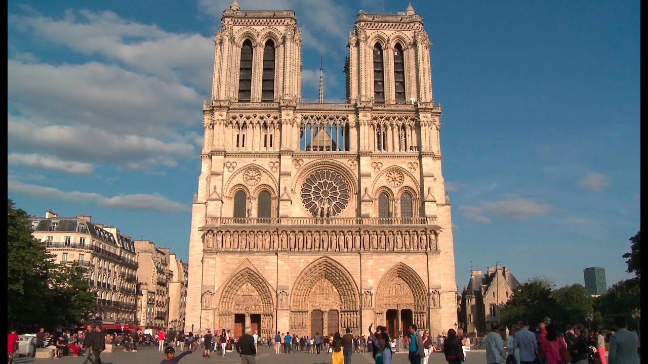 Photo Stock Paris Free Stock Video Download Notre Dame Cathedral Paris Free Hd Download