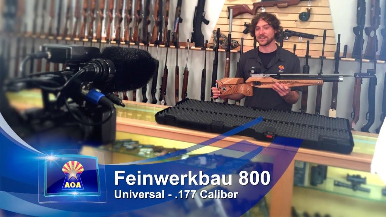 Feinwerkbau (FWB) 800 Universal REVIEW