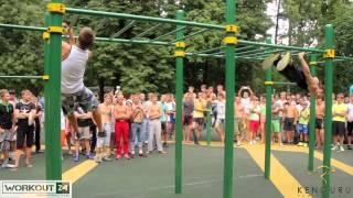 6 ежегодная встреча дворовых спортсменов в Москве 2013.