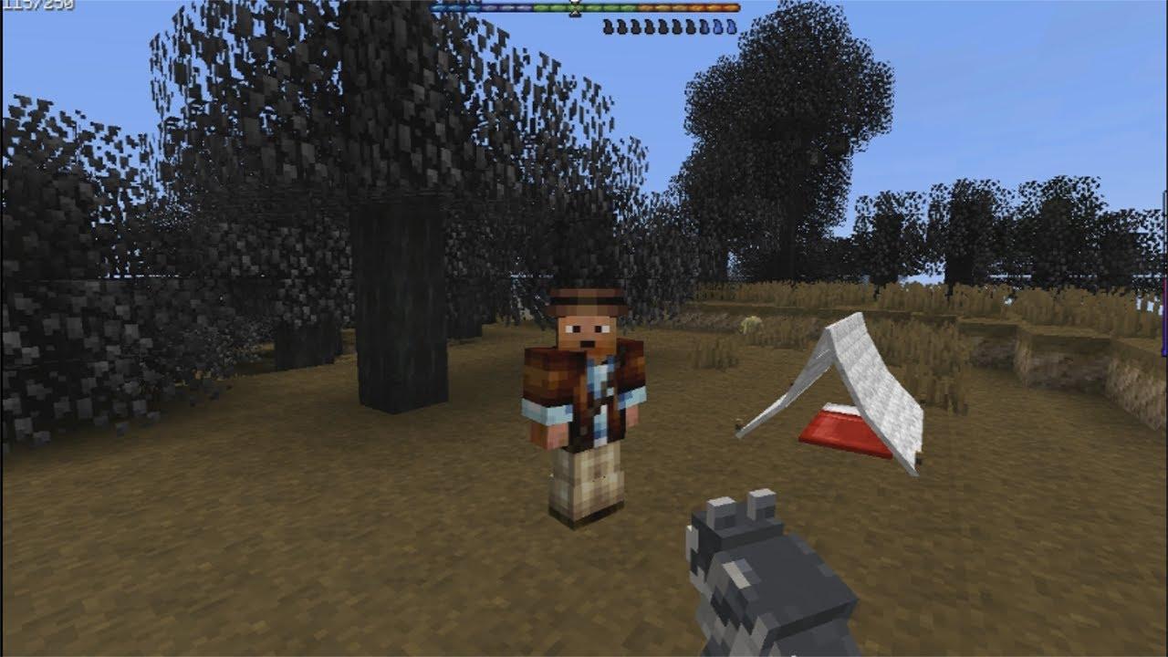 Minecraft:Survival Role Play Episode #1 Zombie Apocalypse YouTube