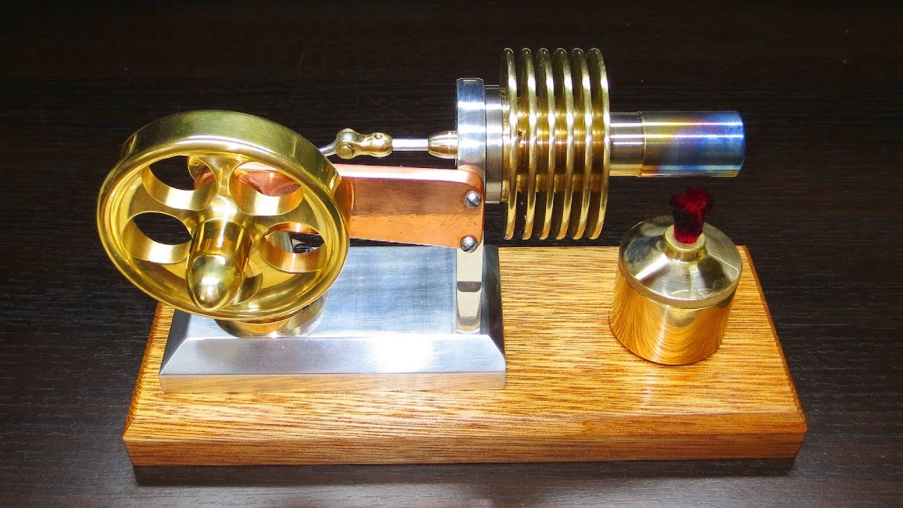 stirling engine The stirling engine is significantly more powerful than a basic redstone engine, but uses fuel such as coal it will eventually explode if it is producing more power than is being extracted from it.