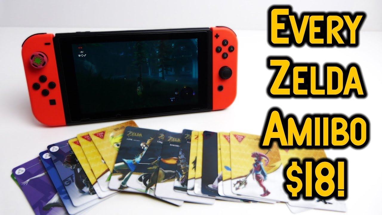 The Legend Of Zelda Amiibo Cards - Set of 22 Amiibo $18?
