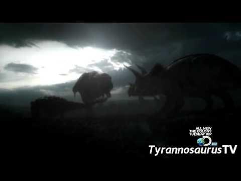 T. REX vs. Triceratops and Ankylosaurus